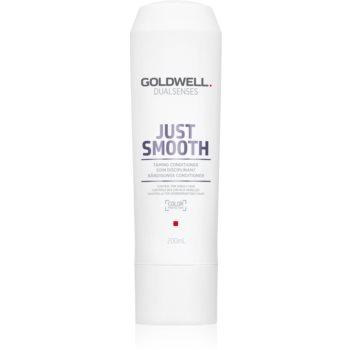 Goldwell Dualsenses Just Smooth balsam cu efect de netezire pentru par indisciplinat imagine