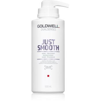 Goldwell Dualsenses Just Smooth masca de netezire pentru par indisciplinat