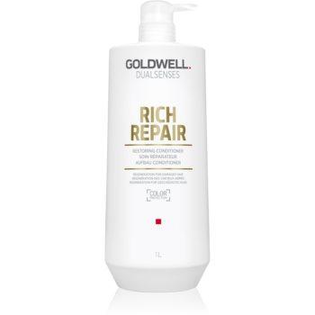 Goldwell Dualsenses Rich Repair balsam pentru regenerare pentru păr uscat și deteriorat