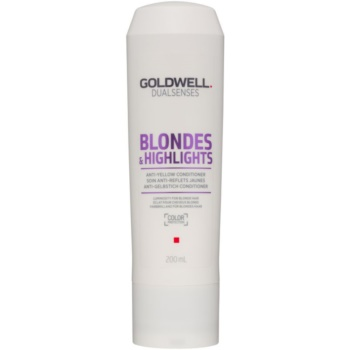 Goldwell Dualsenses Blondes & Highlights balsam pentru păr blond neutralizeaza tonurile de galben