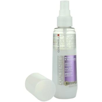 Goldwell Dualsenses Blondes & Highlights spray de proteção para cabelos com madeixas 1