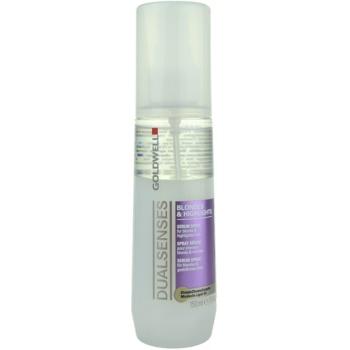 Goldwell Dualsenses Blondes & Highlights spray de proteção para cabelos com madeixas