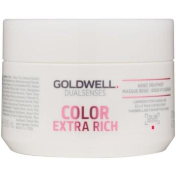 Goldwell Dualsenses Color Extra Rich masca pentru regenerare pentru par aspru si vopsit