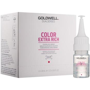 Fotografie Goldwell Dualsenses Color Extra Rich sérum pro ochranu barvy a lesk vlasů 12x18 ml