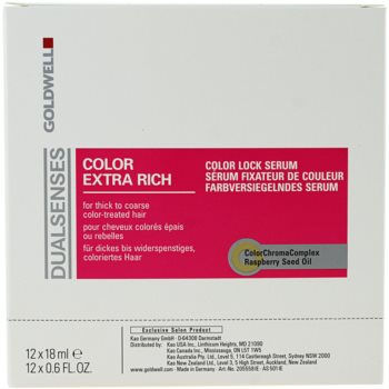 Goldwell Dualsenses Color Extra Rich serum brez izpiranja za grobe in barvane lase 2