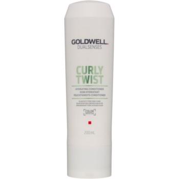 Fotografie Goldwell Dualsenses Curly Twist hydratační kondicionér pro vlnité a trvalené vlasy 200 ml