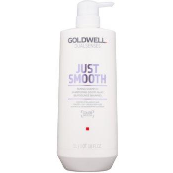 Goldwell Dualsenses Just Smooth sampon pentru indreptarea parului pentru par indisciplinat