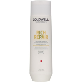 Fotografie Goldwell Dualsenses Rich Repair obnovující šampon pro suché a poškozené vlasy 250 ml