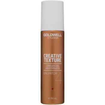 Fotografie Goldwell StyleSign Creative Texture vosk na vlasy ve spreji 150 ml