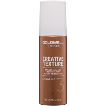 Fotografie Goldwell StyleSign Creative Texture pěnový vosk na vlasy 125 ml