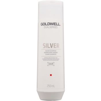 Goldwell Dualsenses Silver șampon neutralizant argintiu pentru părul blond şi gri  250 ml