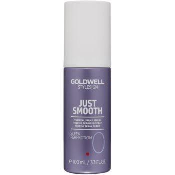 Fotografie Goldwell StyleSign Just Smooth termální sérum ve spreji pro tepelnou úpravu vlasů 100 ml
