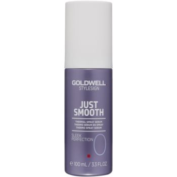 Goldwell StyleSign Just Smooth spray ser termal pentru modelarea termica a parului