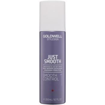 Fotografie Goldwell StyleSign Just Smooth uhlazující sprej na fénování 200 ml