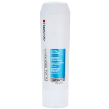 Fotografie Goldwell Dualsenses Ultra Volume lehký kondicionér pro jemné až normální vlasy 200 ml