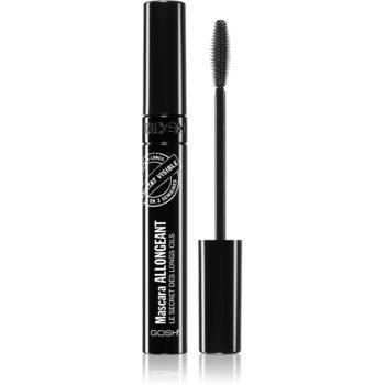 Gosh Growth Mascara Mascara unterstützt das Wachstum der Wimpern Farbton 001 Black 10 ml