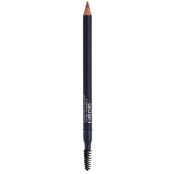 Gosh Eyebrow tužka na obočí s kartáčkem odstín 01 Brown 1,2 g