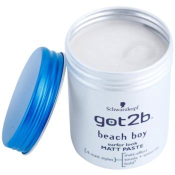 got2b Beach Boy pasta matująca modelujący 1