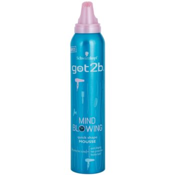 got2b Mind Blowing стилизираща пяна за топлинно третиране на косата 1