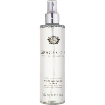 Grace Cole Boutique White Nectarine & Pear spray de corp racoritor