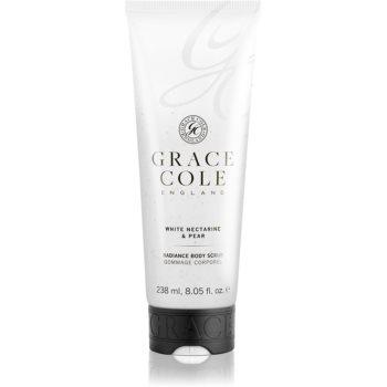 Grace Cole White Nectarine & Pear exfoliant pentru îngrijirea corpului poza