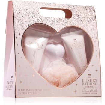 Grace Cole Luxury Bathing Creme Brulée & Orange Blossom set cadou (in dus) imagine