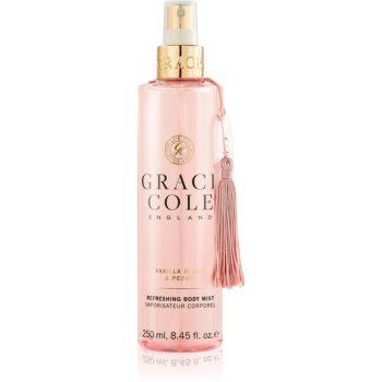 Grace Cole Vanilla Blush & Peony ceață înviorătoare pentru corp