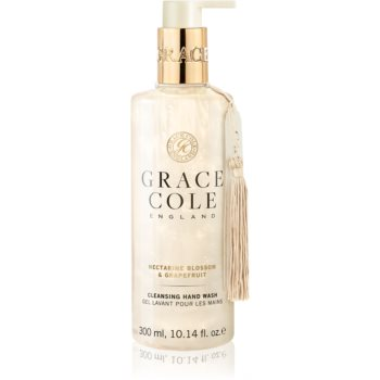 Grace Cole Nectarine Blossom & Grapefruit sapun lichid pentru maini poza