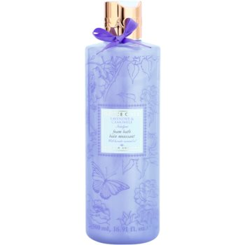Grace Cole Floral Collection Lavender & Camomile spuma de baie