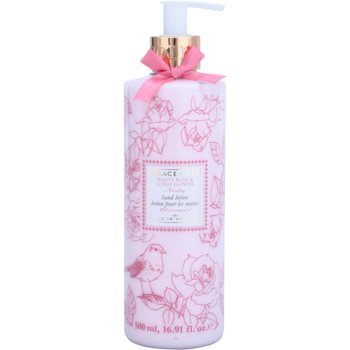 Grace Cole Floral Collection White Rose & Lotus Flower mléko na ruce