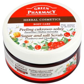 Green Pharmacy Body Care Cranberry & Cloudberry peeling cukrowo-solny
