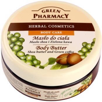 Green Pharmacy Body Care Shea Butter & Green Coffee unt pentru corp
