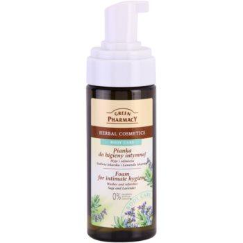 Green Pharmacy Body Care Sage & Lavender spuma pentru igiena intima 1