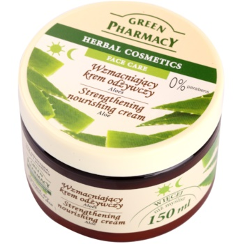 Green Pharmacy Face Care Aloe crema nutritiva intaritoare