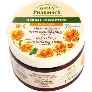 Green Pharmacy Face Care Calendula crema hidratanta si revigoranta pentru pielea uscata si deshidratata
