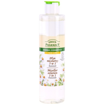 Green Pharmacy Face Care Chamomile apa cu particule micele 3 in 1