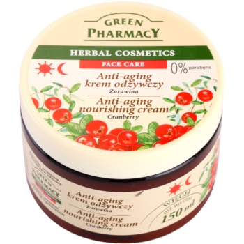 Green Pharmacy Face Care Cranberry crema hranitoare impotriva imbatranirii pielii
