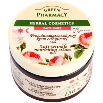 Green Pharmacy Face Care Rose crema hranitoare anti-rid
