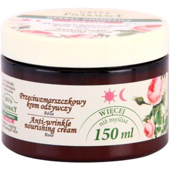 Green Pharmacy Face Care Rose hranilna krema proti gubam 1