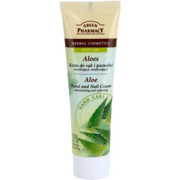 Green Pharmacy Hand Care Aloe crema hidratanta si emolienta pentru maini si unghii