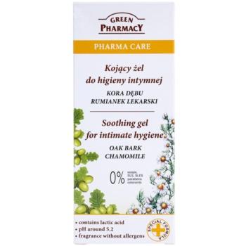 Green Pharmacy Pharma Care Oak Bark Chamomile beruhigendes Gel für die intime Hygiene 2