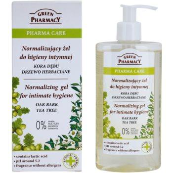 Green Pharmacy Pharma Care Oak Bark Tea Tree gel za intimno higieno 1