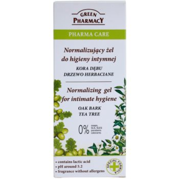 Green Pharmacy Pharma Care Oak Bark Tea Tree gel za intimno higieno 2