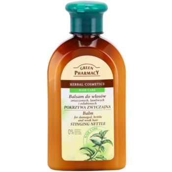 Green Pharmacy Hair Care Stinging Nettle Balsam pentru parul deteriorat, fraged si slab