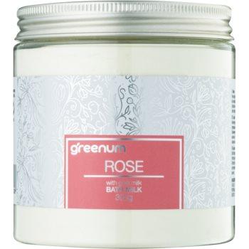Greenum Rose lapte de baie pudră