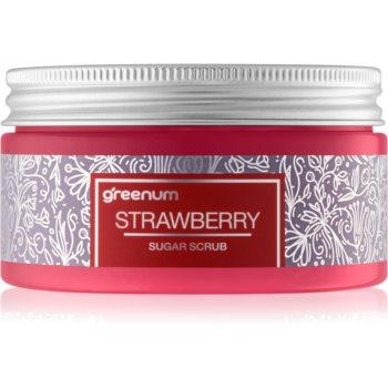 Greenum Sugar Scrub cukrový peeling na tělo s vůní Strawberry 300 g