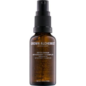 grown alchemist detox ser piele detoxifiant
