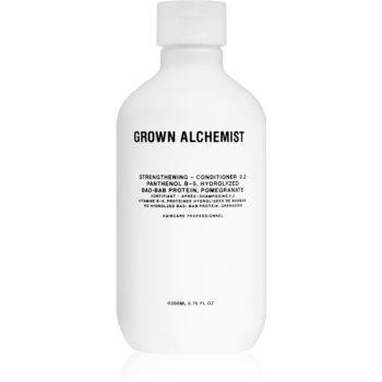Grown Alchemist Strengthening Conditioner 0.2 balsam pentru intarirea si regenerarea parului pentru par deteriorat