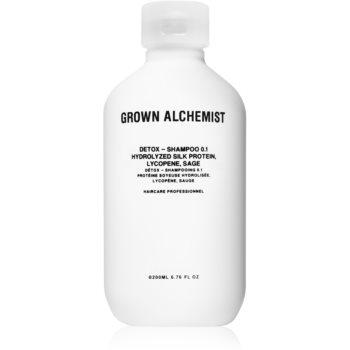 Grown Alchemist Detox Shampoo 0.1 șampon detoxifiant pentru curățare