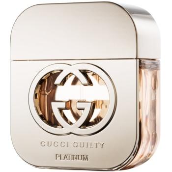 Gucci Guilty Platinum eau de toilette pentru femei 50 ml